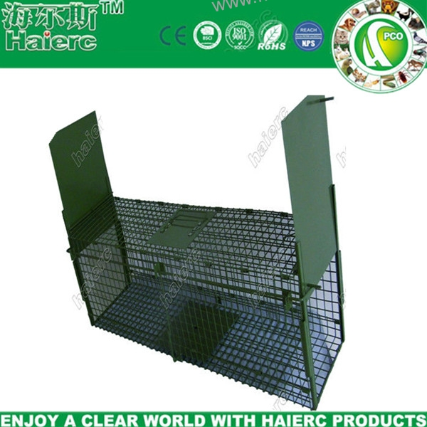 Foldable Squirrel/Cat Trap Cage HC2613B