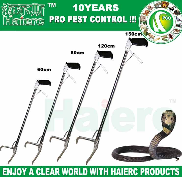 Whole Stainless Snake Control Tongs HC3101E-S