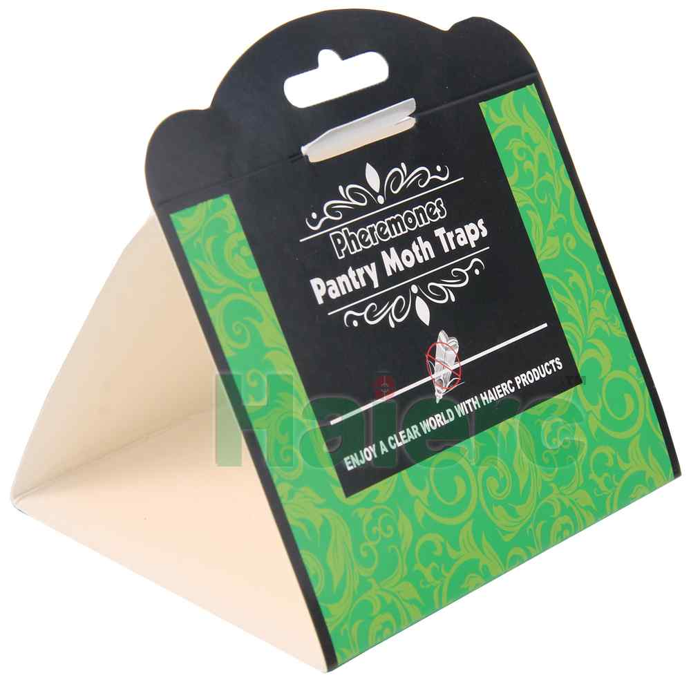 Haierc Pheromones Attraction Pantry Moth Glue Trap
