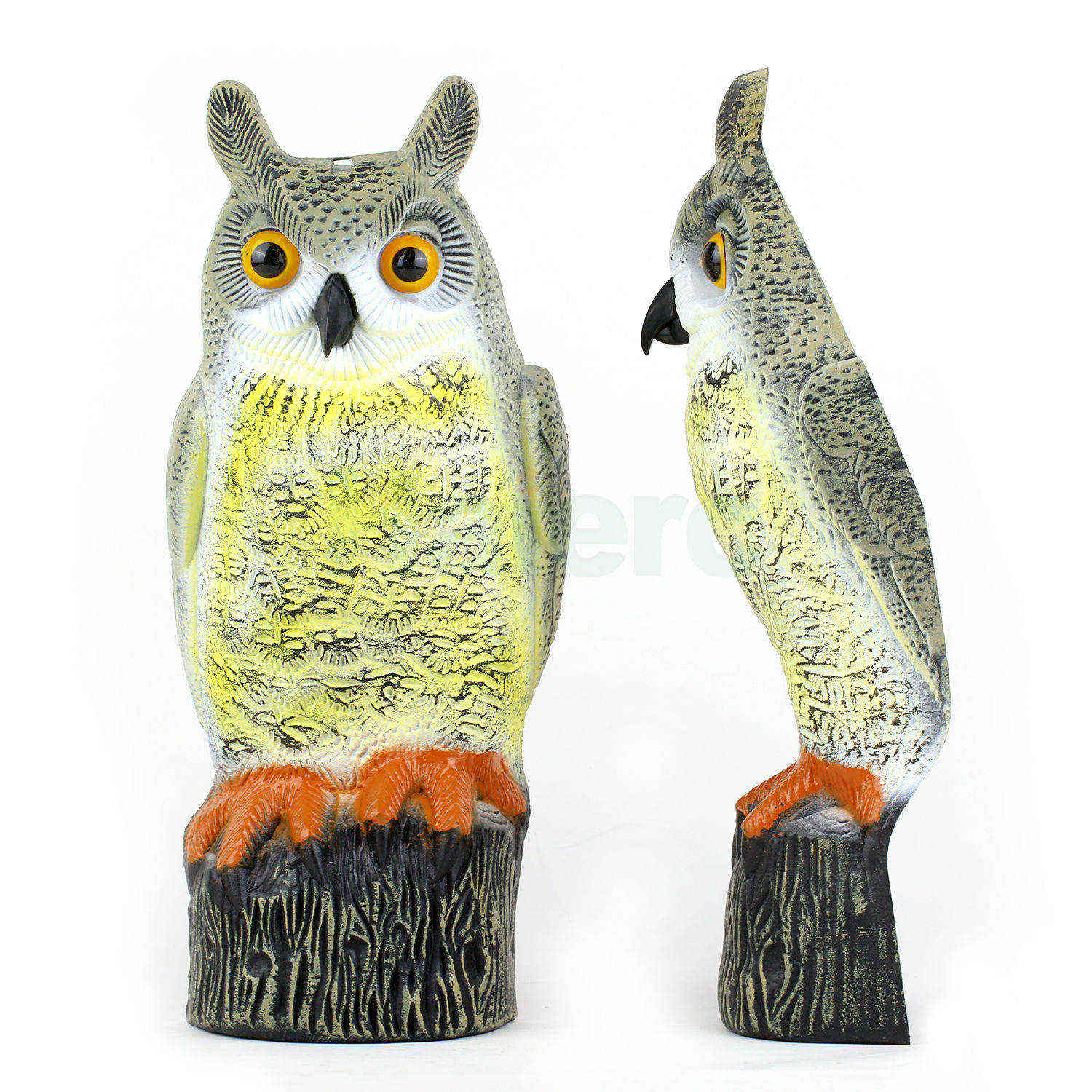 Haierc high quality one side bird scare plastic owl HC1640(1)