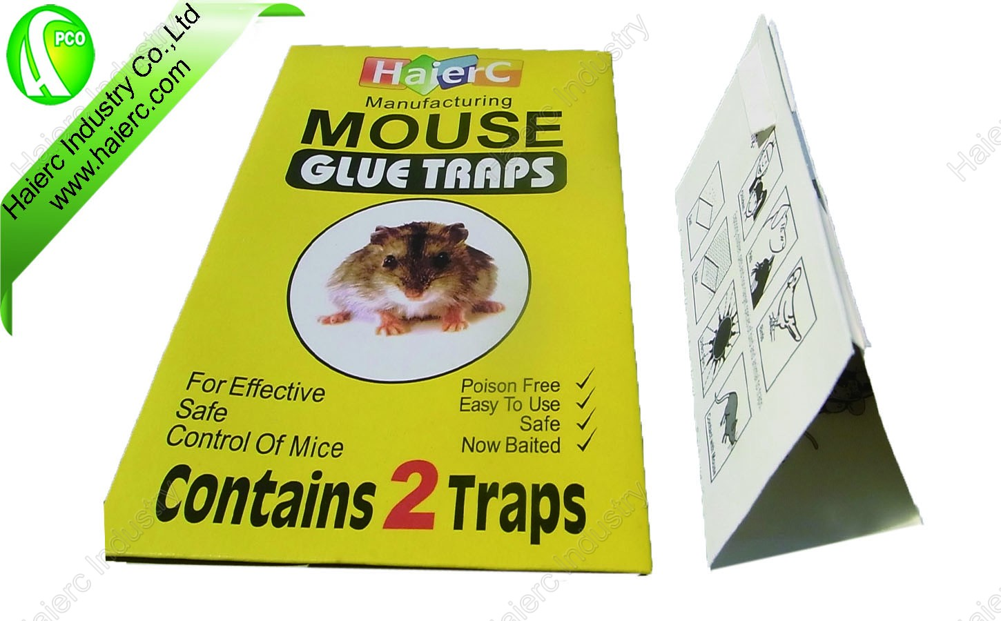 Mouse & Rat Glue Board Trap HC2301
