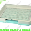 Large Japanese -style dog toilet with mesh plate P684: