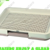 Medium Japanese-style dog toilet with mesh plate P685: